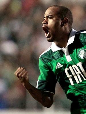 Thiago Heleno gol Palmeiras (Foto: Ag. Estado)