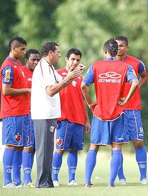 Luxemburgo treino Flamengo (Foto: Fábio Borges / VIPCOMM)