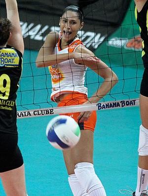 vôlei jaqueline osasco praia clube Superliga Feminina de Vôlei (Foto: Luiz Pires / Vipcomm)