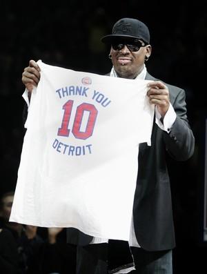 Dennis Rodman, ex-astro da NBA (Foto: AP)