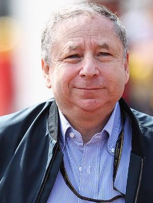 Jean Todt,  presidente da Federação Internacional de Automobilismo (FIA (Foto: agência Getty Images)