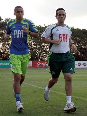 Wellington treino Palmeiras (Foto: Agência Estado)