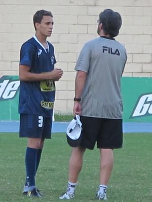 Caio Junior e Caio Botafogo (Foto: Gustavo Rotstein / Globoesporte.com)
