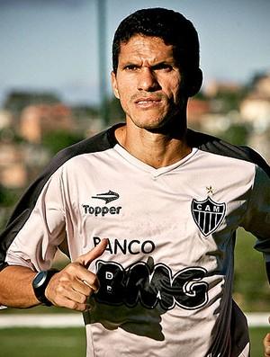 Magno Alves no treino do Atlético-MG (Foto: Bruno Cantini / Site Oficial do Atlético-MG)