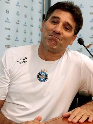 Renato Gaúcho durante coletiva do Grêmio (Foto: Wesley Santos / PressDigital)