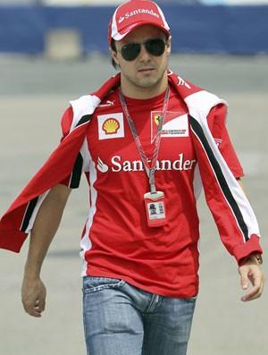 Felipe Massa GP da China Ferrari (Foto: EFE)
