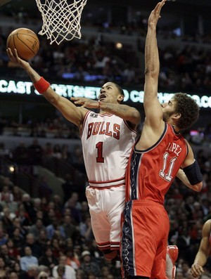 Derrick Rose, do Chicago Bulls (Foto: AP)