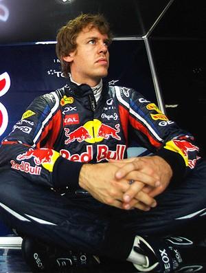 Vettel no treino da F1 na China (Foto: Getty Images)