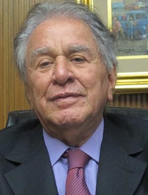 Juvenal Juvêncio presidente do São Paulo (Foto: Julyana Travaglia/GLOBOESPORTE.COM)