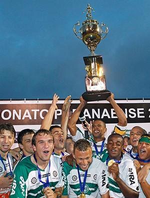 Coritiba Taça campeão (Foto: Ag. Estado)