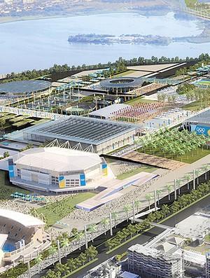 Projeto Parque Olímpico Rio 2016 (Foto: Divulgação)