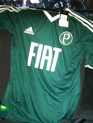 Nova camisa do Palmeiras (Foto: Reprodução / Twitter)
