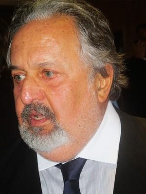 Luis Alvaro de Oliveira Ribeiro  presidente santos (Foto: Richard Souza/Globoesporte.com)