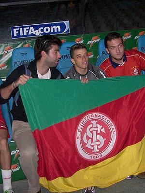 Dalessandro Internacional Uruguai (Foto: Alexandre Alliatti / Globoesporte.com)