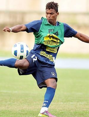 Maicosuel treino Botafogo (Foto: Ag. Estado)