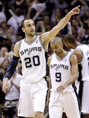 Basquete NBA Manu Ginobili Spurs (Foto: AP)