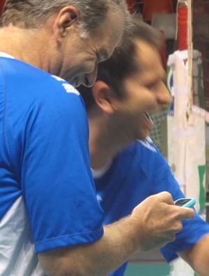 Bernardinho treino (Foto: Danielle Rocha / Globoesporte.com)