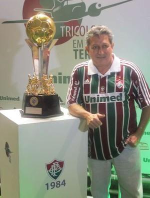 Romerito no Engenhão (Foto: Edgard Maciel de Sá / Globoesporte.com)