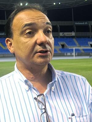 Francisco vice presidente de patrimonio Botafogo sobre o Engenhão (Foto: Thiago Fernandes / GLOBOESPORTE.COM)