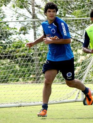 ortigoza cruzeiro treino (Foto: Lucas Catta Prêta / Globoesporte.com)