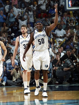 Zach Randolph, do Memphis Grizzlies (Foto: Reuters)