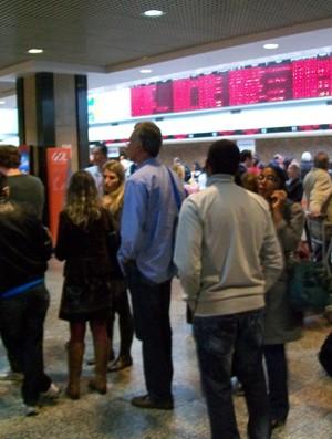 Aeroporto Salgado Filho, em Porto Alegre (Foto: Eduardo Cecconi/Globoesporte.com)