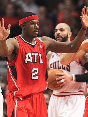 Joe Johnson Atlanta Hawks NBA (Foto: Reuters)