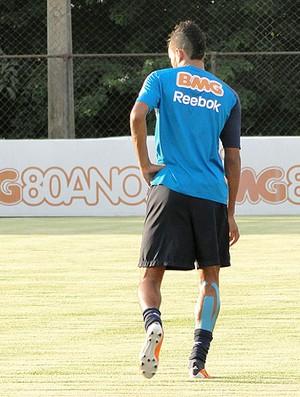Pablo treino Cruzeiro (Foto: Fernando Martins / Globoesporte.com)