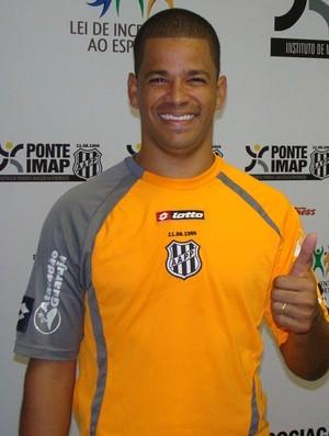 Julio Cesar, goleiro da Ponte Preta (Foto: Divulgação)