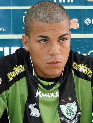 Thiago Carleto  América-MG (Foto: Tarcísio Badaró/Globoesporte.com)