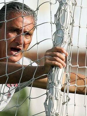 Tite no treino do Corinthians (Foto: Ag. Estado)