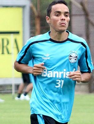 Lúcio no treino do Grêmio (Foto: Wesley Santos / PressDigital)