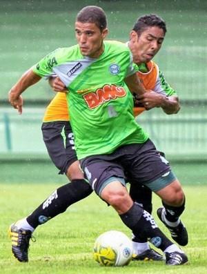 Coritiba treinou na manhã deste domingo (Foto: Divulgação / Site oficial do Coritiba)