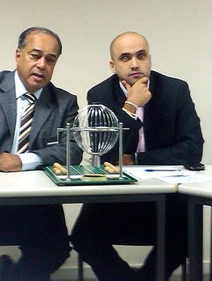 sorteio da CBF para a final da Copa do Brasil (Foto: Felippe Costa / GLOBOESPORTE.COM)