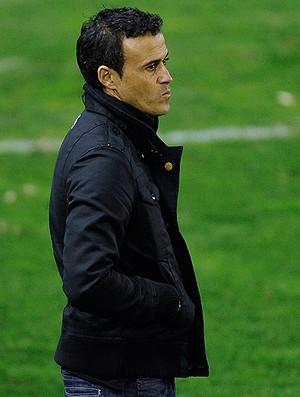 luis enrique treinador barcelona B (Foto: agência Getty Images)