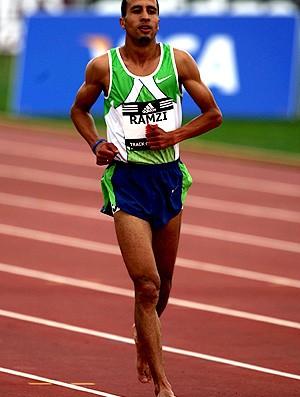 atletismo rashid Ramzi corrida descalço (Foto: agência Getty Images)