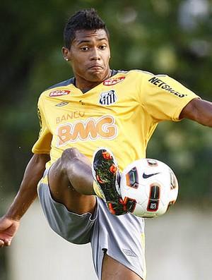 Alex Sandro, do Santos (Foto: Flickr do Santos)