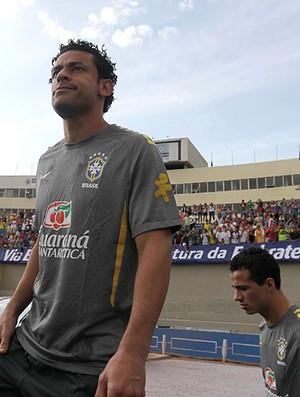 treino seleção brasileira fred leandro damião (Foto: Divulgação/ Mowa Press)