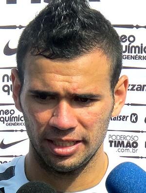 Leandro Castán durante treino do Corinthians (Foto: Carlos Augusto Ferrari / GLOBOESPORTE.COM)