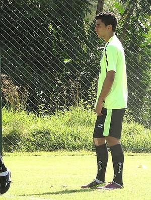 Renan Oliveira no treino do Atlético-MG (Foto: Lucas Catta Prêta / GLOBOESPORTE.COM)
