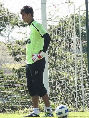 Renan Ribeiro no treino do Atlético-MG (Foto: Lucas Catta Prêta / GLOBOESPORTE.COM)