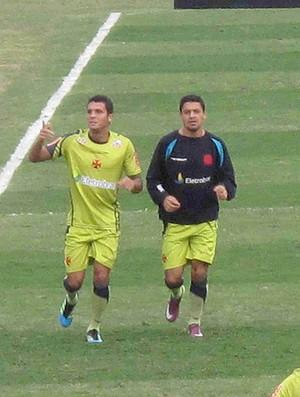 Eder Luis Ramon treino Vasco (Foto: Rafael Cavalieri / Globoesporte.com)