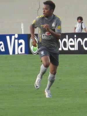 Robinho Seleção Brasileira (Foto: Leandro Canônico/GLOBOESPORTE.COM)