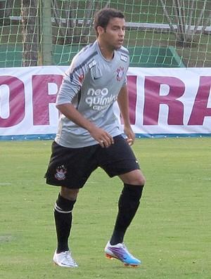 Weldinho treino Corinthians (Foto: Carlos Augusto Ferrari / Globoesporte)