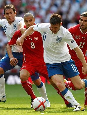 Lampard Inglaterra x Suíça (Foto: Reuters)