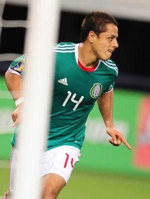 Javier Hernández Chicarito México El Salvador (Foto: Foto: AFP)