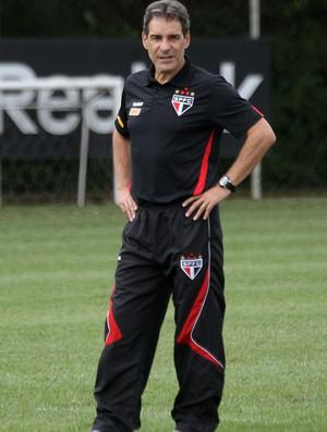 Paulo César Carpegiani no treino do São Paulo (Foto: VIPCOMM)