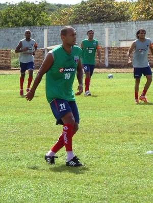 Esley treinando (Foto: Divulgação / Fortaleza FC)