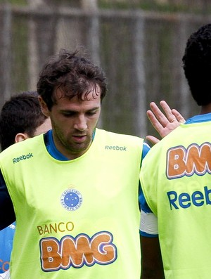 Montillo, no treino do Cruzeiro (Foto: Washington Alves / Vipcomm)