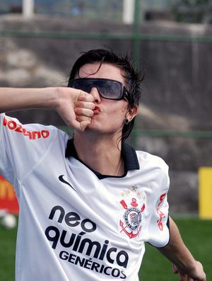 Pe Lanza vocalista Restart (Foto: Alexandre Durão / Globoesporte.com)
